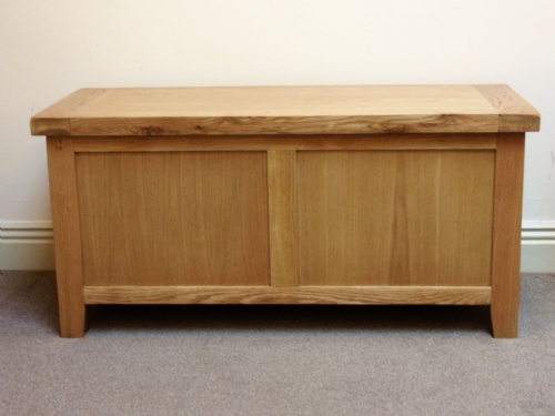 Loxley Oak Blanket Box